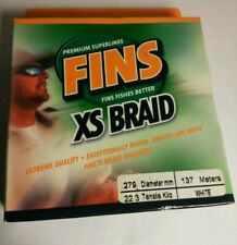 Fins XS Braid Fishing Line 90 lbs 150 yd WHITE
