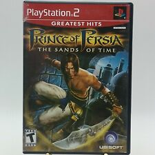 Prince of Persia The Sands of Time PS2 Greatest Hits Sony PlayStation 2 UBISOFT