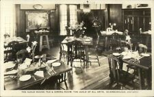 Scarborough Ontario Guild House Tea & Dining Room Real Photo Postcard
