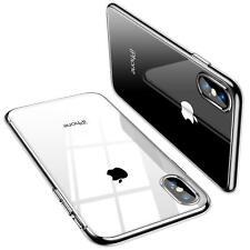 SHARK© Schutz Hülle für iPhone X Ultra Slim Case Silikon TPU Cover Transparent