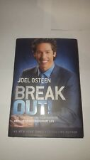 Signed JOEL OSTEEN Book Break Out! HCDJ 1st ed