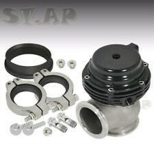 35Mm 38Mm V-Band External Wastegate Aluminum Compact Style Turbo Manifold Black