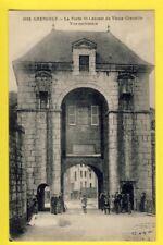 cpa FRANCE 38 - Vieux GRENOBLE (Isère) La PORTE SAINT LAURENT Vue Extérieure