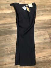New listing Nwt's $110 Michael Kors 32 x 30 Men Blue Plaid Fit Flat Dress Pants