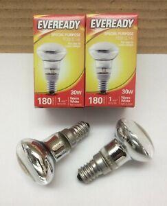6 x R39 30w Watt Lava Lamp Halogen SES E14 Spot Reflector Light Bulbs Eveready