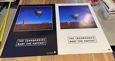 24X36 2-SIDED PROMO POSTER~The Cranberries 1999 Bury the Hatchet Album OriginaL