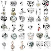 Genuine Pandora 925 Sterling Silver ALE Rose Gold Bracelet Charm Bead 18k ALE