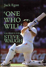 Egan, Jack, 'One Who Will':the Search for Steve Waugh, Very Good Book