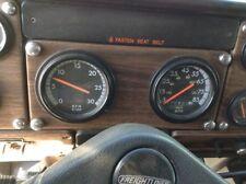 Freightliner FLD112 2-Gauge Instrument Cluster, Tach/Speedometer - SHIPS FREE!