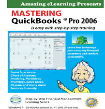 Learn Quickbooks Pro 2006 Step-by-Step Tutorial Training