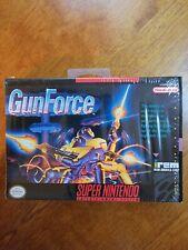 GunForce (Super Nintendo SNES)🔥 Near Mint condition🔥 Box only! Authentic