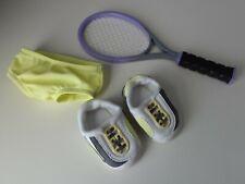 "American Girl 18"" Doll Tennis Shoes Racquet & Pants - Set #2"
