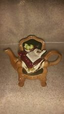 Vintage Royal Albert Earthenware Old Country Roses Chair Tea Pot w Lid 1996