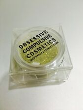 Obsessive Compulsive Cosmetics Vegan Cruelty Free Face Eye Body Glitter Gold 2.5