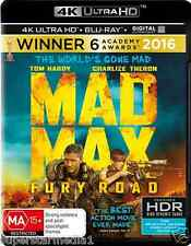 Mad Max Fury Road 4K Blu-Ray UHD : NEW 4K Ultra HD