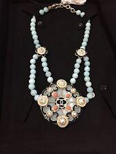 Chanel NWT Korean Garden Baroque Faux Pearl Pendant Necklace (ORIG $1925)