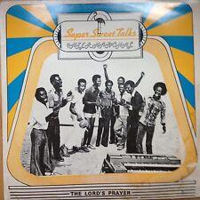 Super Sweet Talks The Lord's Prayer original Afro Funk Ghana LP