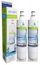 2 Internal Water filter fits Whirlpool Fridge SBS002 S20BRS 4396508 481281729632