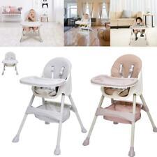 Falten 3 IN 1 Kinderhochstuhl Babystuhl Tisch Kombination mit Liegefunktion DHL