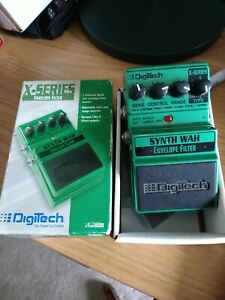 Digitech Synth Wah Envelope Filter- with box and original documentation!