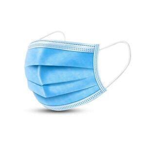 50x Atemschutz-Masken Mundschutz-Masken 3 Lagig Einwegmaske