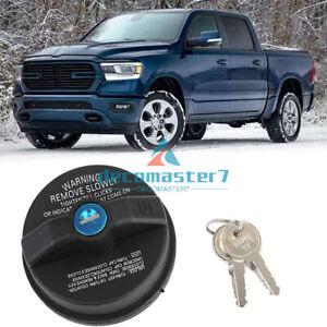 05278655AB Locking Gas Fuel Cap & 2 Keys For Chrysler Jeep Dodge MOPAR 2001-2016