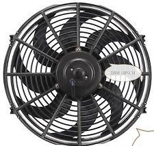 High Performance Black 14inch Thermo Fan Electric Fan Kit 220watt 12volt