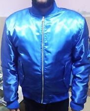 Varsity Letterman Satin Jacket with Inside Satin Lining all colors Available