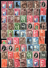 MALAYA STRAITS SETTLEMENTS 1957-1960 STATES SELECTION TO $5.00 USED STAMPS