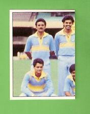 1985 SCANLENS CRICKET STICKER #88  THE INDIAN TEAM