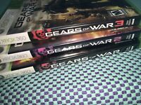 Gears of War/GOW2/GOW3 Microsoft Xbox360 Read Described LotOf3 Free Shipping