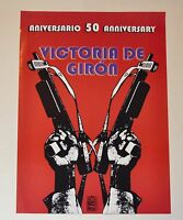Authentic 2010 POSTER.Giron Bay of Pigs solidarity art.OSPAAAL Cuban original