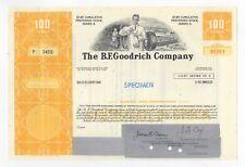 SPECIMEN - The B.F.Goodrich Company Stock Certificate