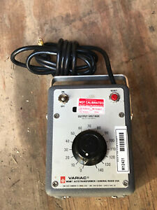 Variac type W5MT variable voltage autotransformer 0-140 Volts