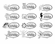 UNMOUNTED PERSONALIZED CREATED BY CUSTOM RUBBER STAMPS C94