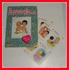 LOVE IS Album Figurine PANINI 1982 VUOTO