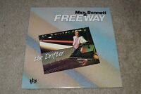 Max Bennett & Freeway~The Drifter~1986 Smooth Jazz~TBA Records 216~FAST SHIPPING