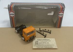 Herpa Germany 1/87 MAN Container Truck - CAB ONLY - HO Scale Collectible