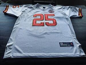 NFL Kansas City Chiefs Jamaal Charles Mens Reebok LH Patch Jersey- Sz 52 XL