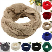 Women Scarf Ladies Travel Autumn Solid Shawl Scarf Winter Pashmina Knitted