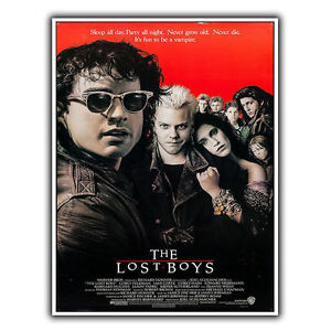 THE LOST BOYS SIGN METAL PLAQUE Film Movie Advert poster art print