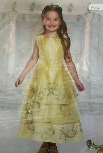 Child Halloween Costume Disney Beauty and the Beast BELLE BALL GOWN 4, 6X, 7, 8