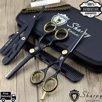 Hair Cutting,Thinning Scissors Shears Set Hairdressing Salon Professional-Barber