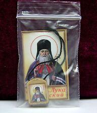 LADANKA fourth hurry Luka ладанка с иконой луки крымского освящена 2x1,8 cm