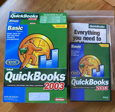 Basic QuickBooks Financial Software 2003 Great Condition