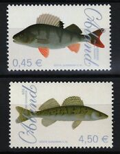 poisson Lot de 2 MNH Timbres 2009 ALAND #270-1
