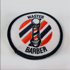 Master Barber Patch Logo Emblem Sign