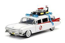 GHOSTBUSTERS Auto Ambulanza ECTO-1 Modello 22cm 1/24 DieCast METALLO Jada Toys