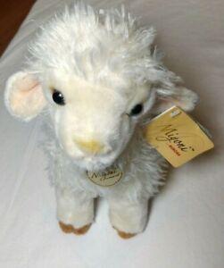 2015 Miyoni Tots Baby Lamb by Aurora, plush, stuffed animal w/tags