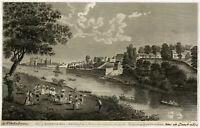 Antique Print-ARCHITECTURE-RICHMOND HILL-RICHMOND PALACE-Barlow-ca. 1800